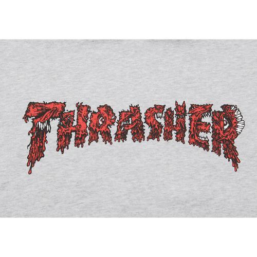 THRASHER ROTTEN プルオーバー パーカー TH8520PLGY(Men's)