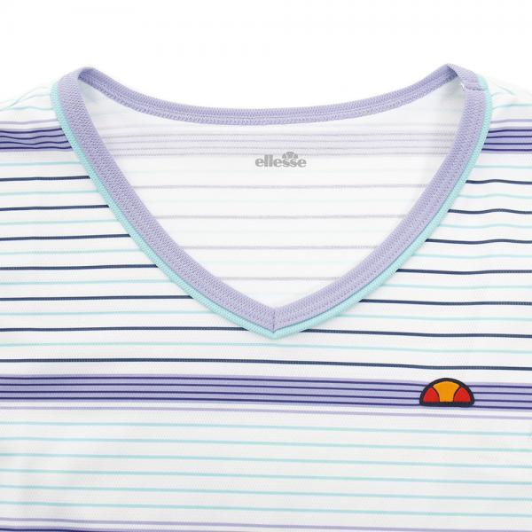 エレッセ(ELLESSE) ゲームシャツ EW07324P PV(Lady's)