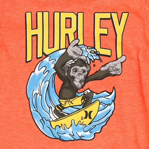 ハーレー(HURLEY) ボーイズ 半袖Tシャツ 782591-N2G(Jr)