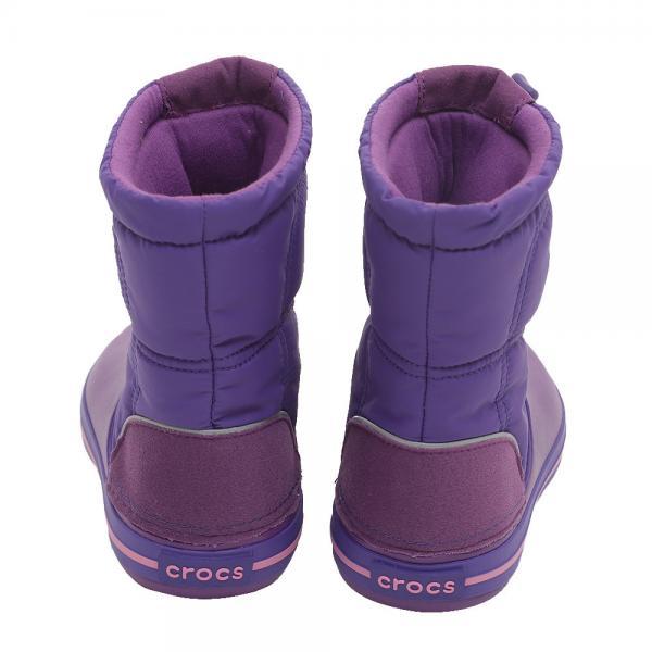 クロックス(crocs) Kids' Crocband LodgePoint Boot #203509 5G2 PPL(Jr)