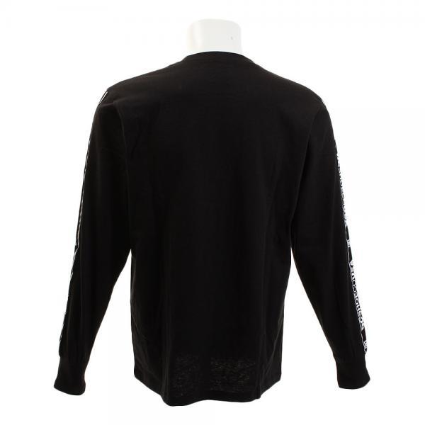 ディーシー・シュー(DC SHOE) スリーブロゴ長袖Tシャツ 17FW5425J701BLK(Men's)