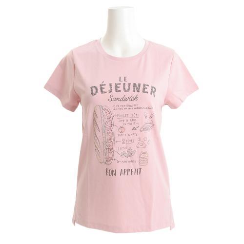 HUITIEME 【ゼビオグループ限定】 グラフィックTシャツ HU17FCD864844PNK(Lady's)