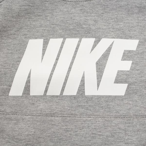 ナイキ(nike) HNキッズ ロングスリーブロゴスウェット TBY-17136 86C528-042(Jr)
