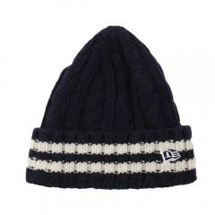 ニューエラ(NEW ERA) LG CUFF KNIT WOOL LI 11474398(Men's)