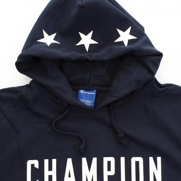 チャンピオン(CHAMPION) スエットプルオーバーパーカー C8-LB122  370(Men's)