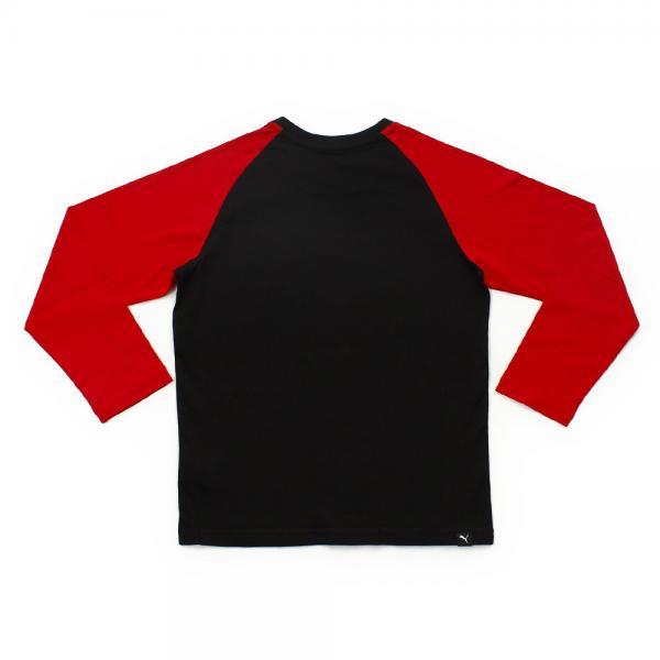 プーマ(PUMA) 長袖Tシャツ 594655 01 BLK(Jr)