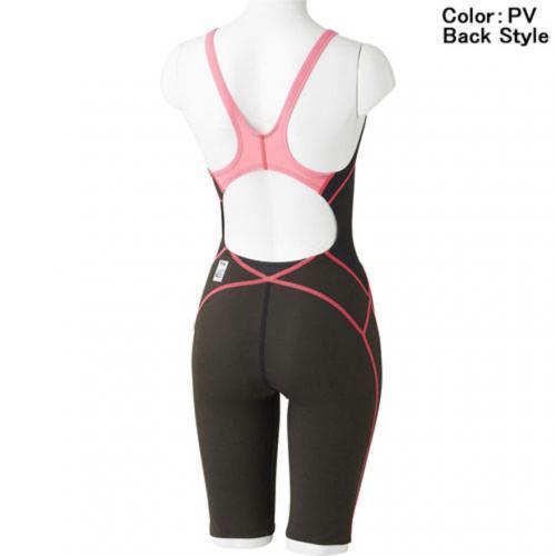 スピード(SPEEDO) FASTSKIN XT ACTIVE HYBRID2 ニースキン 競泳用 オールインワン FINA承認 SD46H02 PV(Lady's)