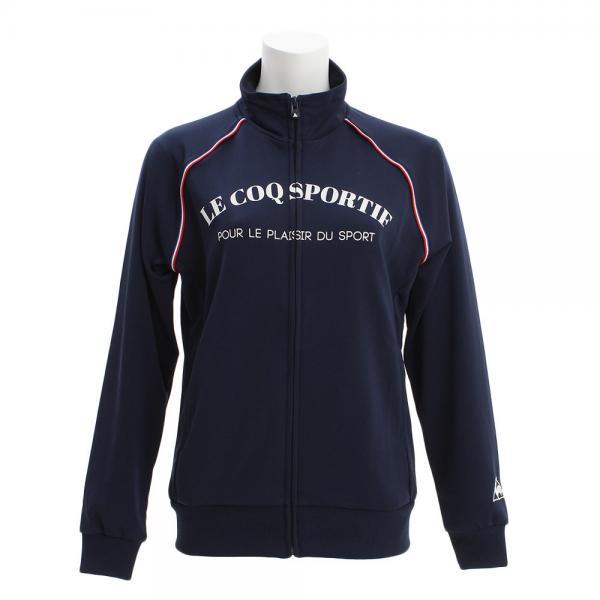 ルコック スポルティフ(Lecoq Sportif) ウォームアップジャケット QB-555273 NVY(Lady's)