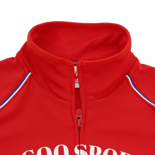 ルコック スポルティフ(Lecoq Sportif) ウォームアップジャケット QB-555273 RED(Lady's)