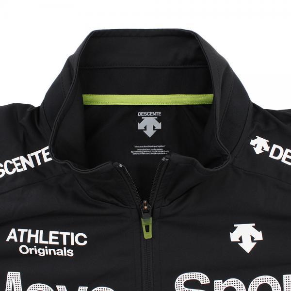 デサント(DESCENTE) ドライトランスファー トレーニングジャケット DAT-1750 BLK(Men's)