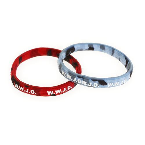 メーカーブランド(BRAND) WWJD リストバンド WWJD-62-16(Men's、Lady's、Jr)
