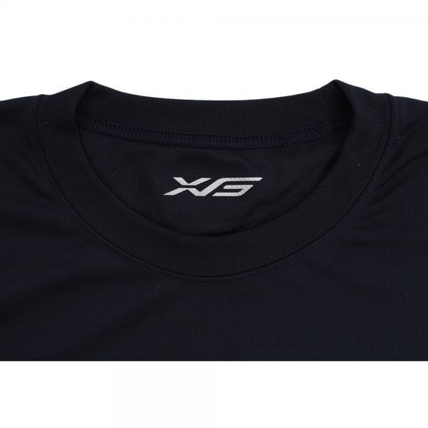 エックスティーエス(XTS) DP Keep it fun 751G7ES6314 NVY 長袖Tシャツ(Men's)