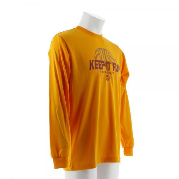 エックスティーエス(XTS) DP Keep it fun 長袖Tシャツ 751G7ES6314 YEL(Men's)