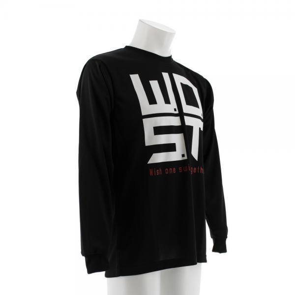 エックスティーエス(XTS) DP Never say never 長袖Tシャツ 751G7ES6315 BLK(Men's)