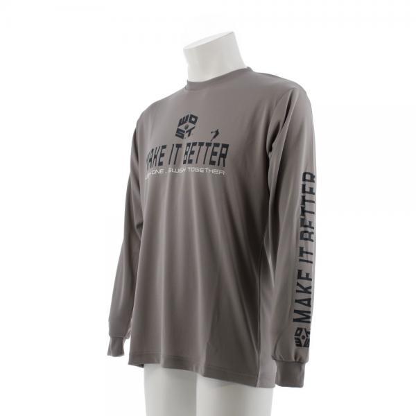 エックスティーエス(XTS) DP Make it better 長袖Tシャツ 751G7ES6316 GRY(Men's)