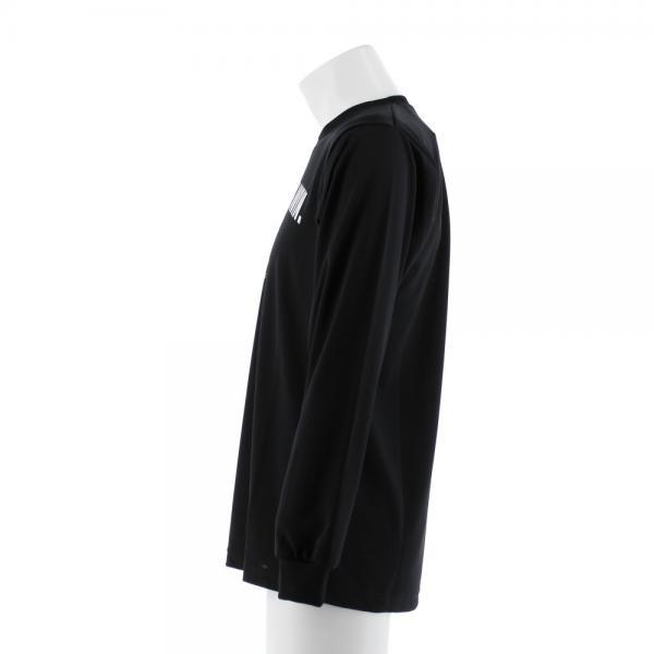 エックスティーエス(XTS) DP Quitter never win 長袖Tシャツ 751G7ES6317 BLK(Men's)