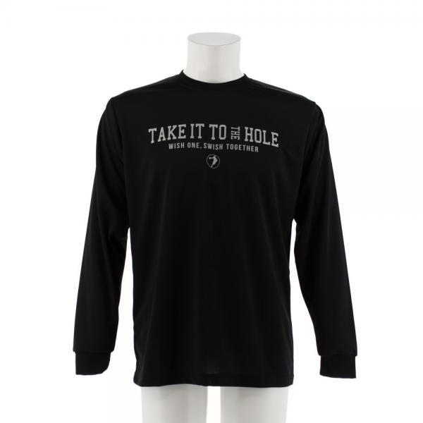 エックスティーエス(XTS) DP Take it to the 長袖Tシャツ 751G7ES6323 BLK(Men's)