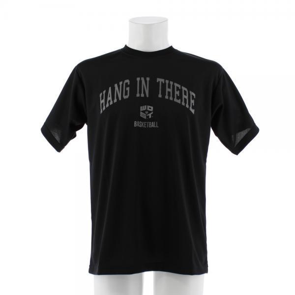 エックスティーエス(XTS) DP Hang in there 半袖Tシャツ 751G7ES6324 BLK(Men's)