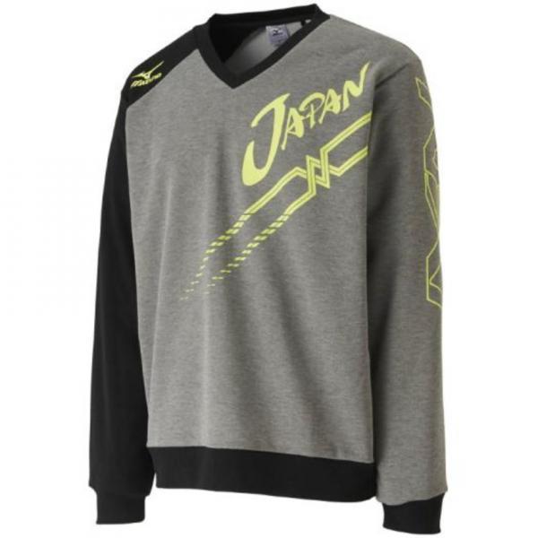 ミズノ(MIZUNO) 17年ソフトテニス 日本代表応援スウェットシャツ 62JC7X1194(Men's、Lady's)