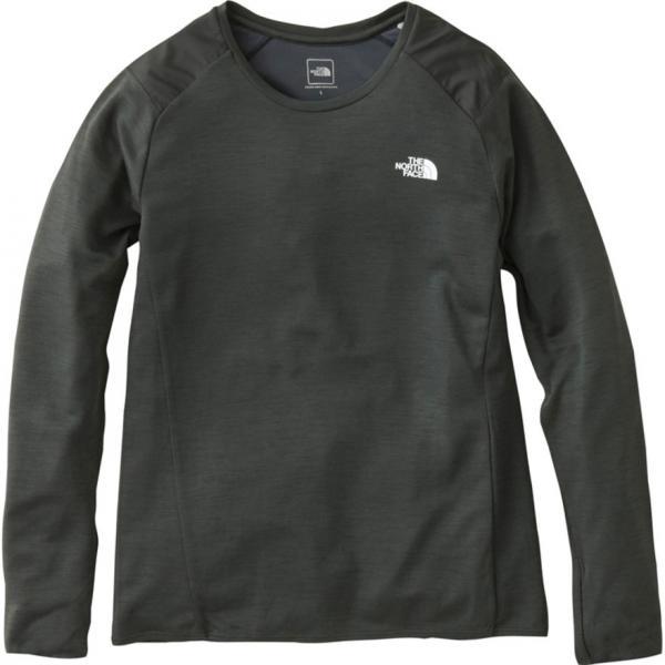 ノースフェイス(THE NORTH FACE) ロングスリーブクライメイトウール クルーネックシャツ NTW61783 CH(Lady's)
