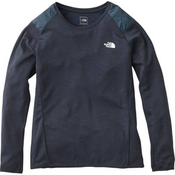 ノースフェイス(THE NORTH FACE) ロングスリーブクライメイトウール クルーネックシャツ NTW61783 UN(Lady's)