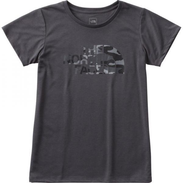 ノースフェイス(THE NORTH FACE) TNFカモフラージュロゴTシャツ NTW61787 CH(Lady's)