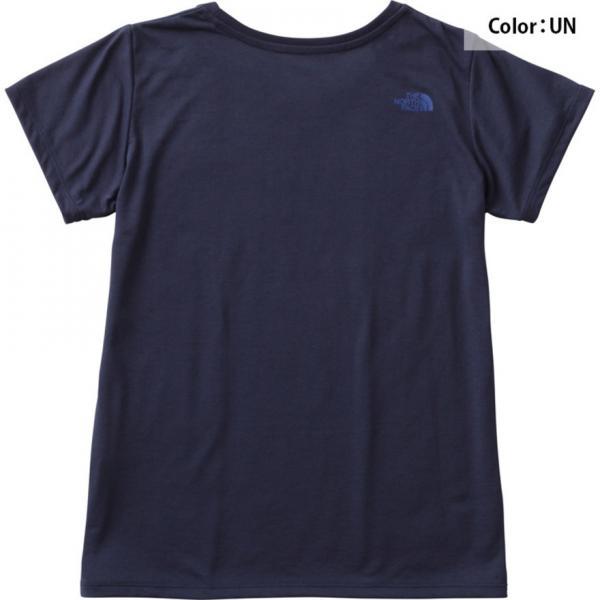 ノースフェイス(THE NORTH FACE) TNFカモフラージュロゴTシャツ NTW61787 UN(Lady's)