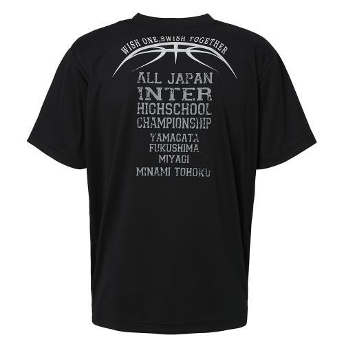 エックスティーエス(XTS) インターハイ 大会記念Tシャツ5 バスケ 702G7ES4937 BLK(Men's)