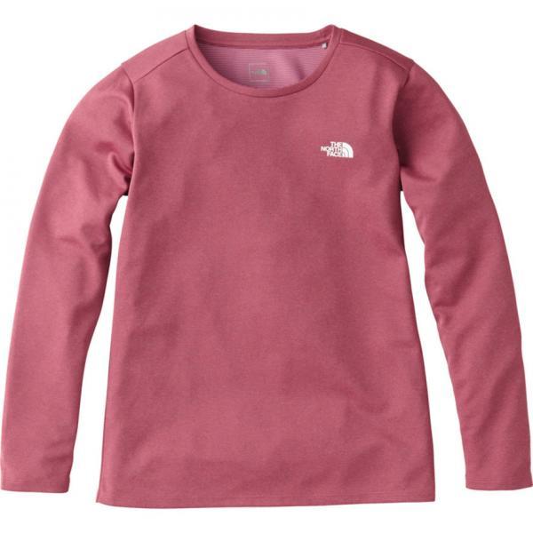 ノースフェイス(THE NORTH FACE) ロングスリーブRDTボルテージクルーネックTシャツ NTW61676 BL(Lady's)