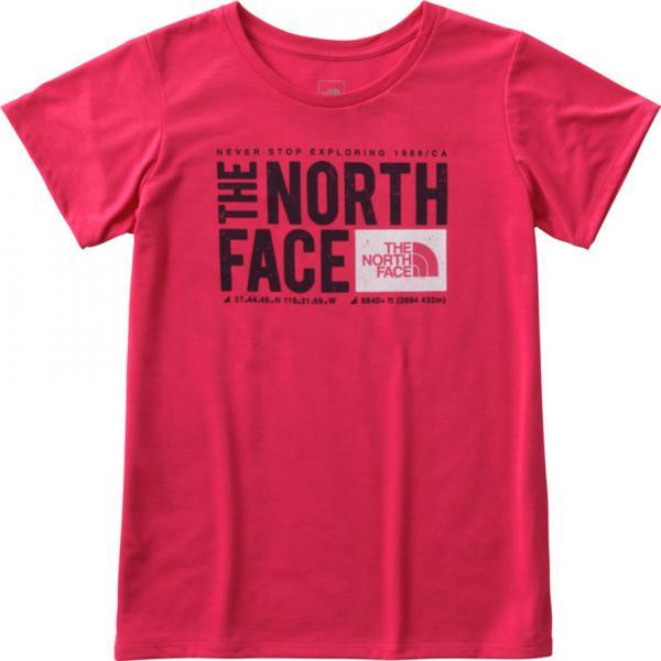 ノースフェイス(THE NORTH FACE) TNFスクエアロゴTシャツ NTW81785 BT(Lady's)