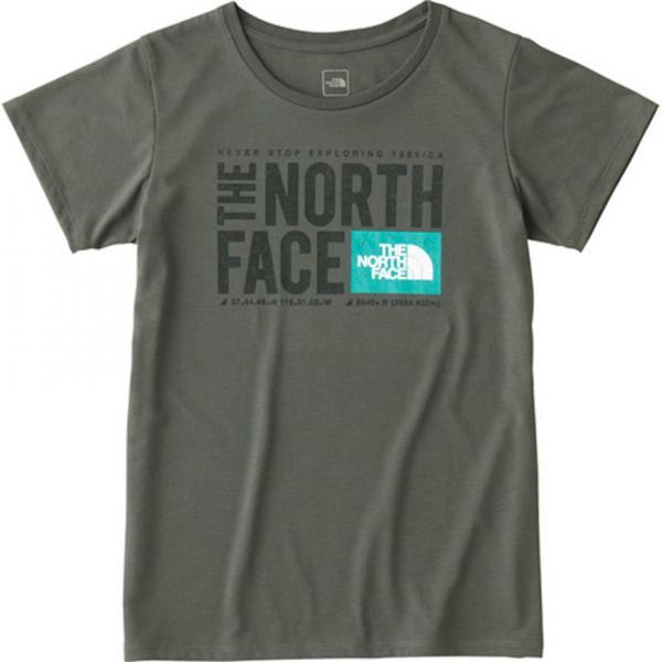 ノースフェイス(THE NORTH FACE) TNFスクエアロゴTシャツ NTW81785 ZC(Lady's)