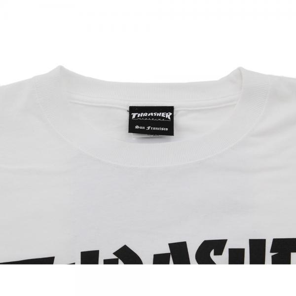 THRASHER 長袖 Tシャツ TH8301-SWH(Men's)
