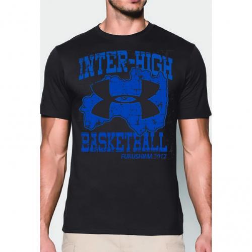 アンダーアーマー(UNDER ARMOUR) 大会記念 アンダーアーマーTシャツ バスケ #1325128 BLK(Men's)