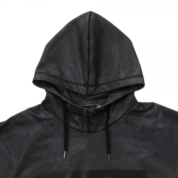 スタイリッシュブラック(STYLISH BLACK) 絶耐撥水 スウェットパーカー 860W7VE2970 CGRY(Men's)