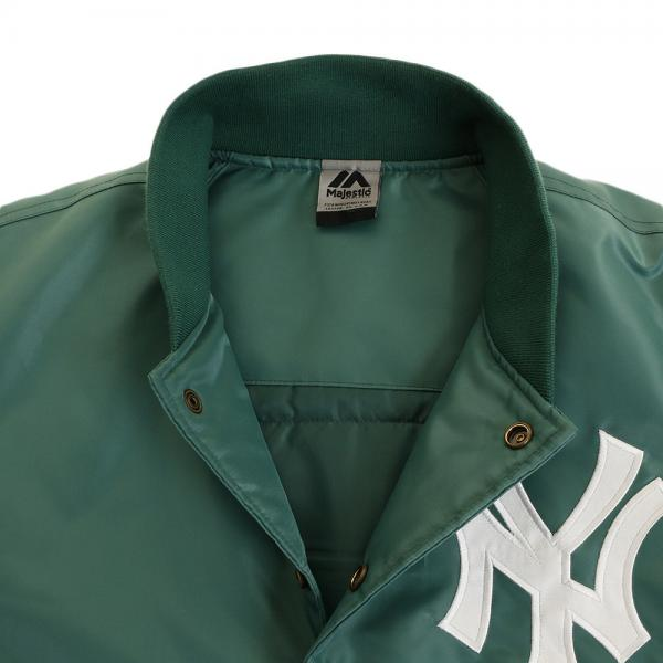 MAJESTIC ニューヨーク・ヤンキース サテンジャケット MM23-NYK-0116-GRE5(Men's)