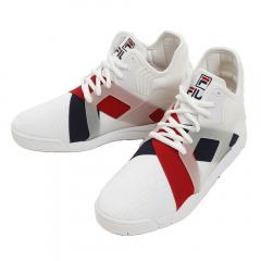 フィラ(FILA) ケージ17ロゴ FHE119 CAGE 17LOGO WHT/NVY/RED(Men's)