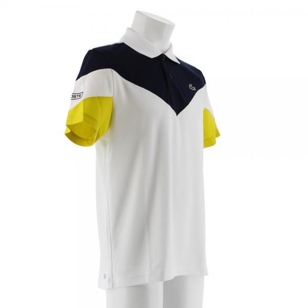 ラコステ(LACOSTE) テニス 半袖ポロシャツ DH7983-U3D(Men's)