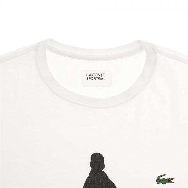 ラコステ(LACOSTE) 半袖 シルエット Tシャツ TH3882-001(Men's)