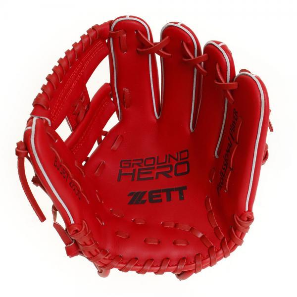 ゼット(ZETT) 少年軟式用 グラブ グランドヒーロー オールラウンド用 BJGB72830-6400(Jr)
