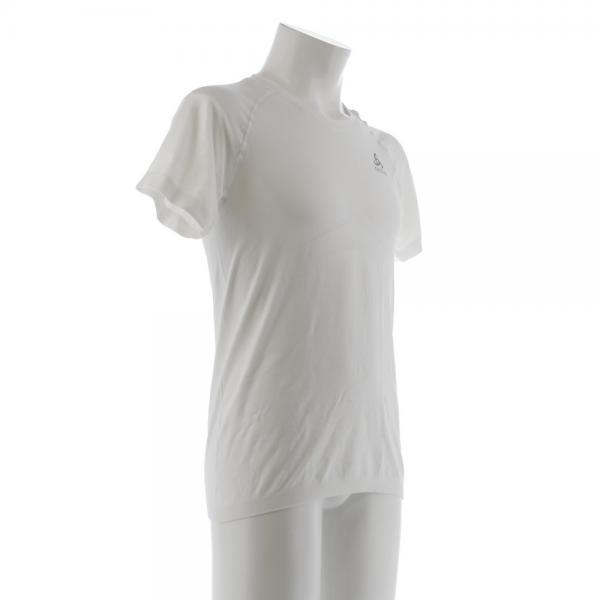 オドロ(ODLO) EVOLUTION LIGHT ベースレイヤー 半袖Tシャツ 184002 WHI(Men's)