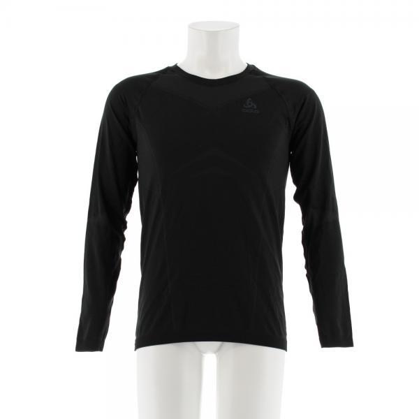 オドロ(ODLO) EVOLUTION LIGHT ベースレイヤー 長袖Tシャツ 184102 BLK(Men's)