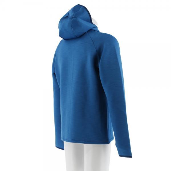 オドロ(ODLO) Hoody midlayer フルジップパーカー 349462 BLUE(Men's)