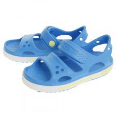 クロックス(crocs) 【オンライン特価】Crocs Crocband II Sandal Paradise OcnTbg #14854-4R7(Jr)