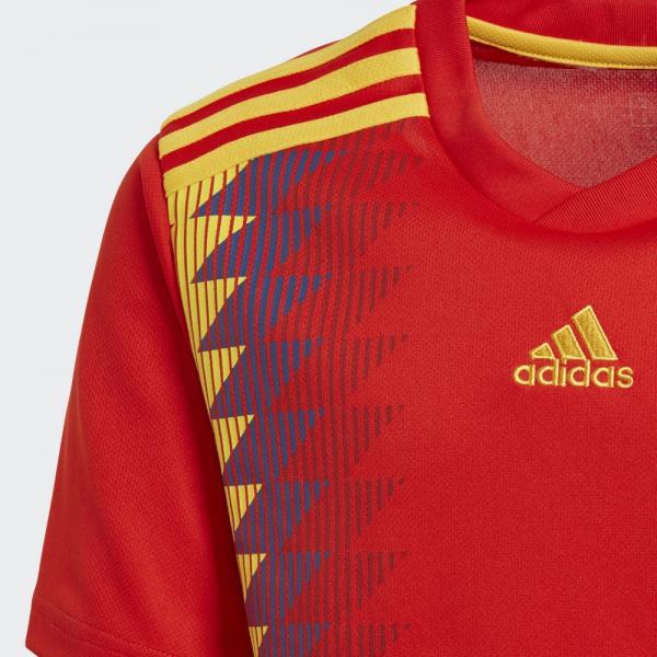 アディダス(adidas) キッズ スペイン代表 ホームレプリカ 半袖ユニフォーム DTY36-BR2713(Jr)