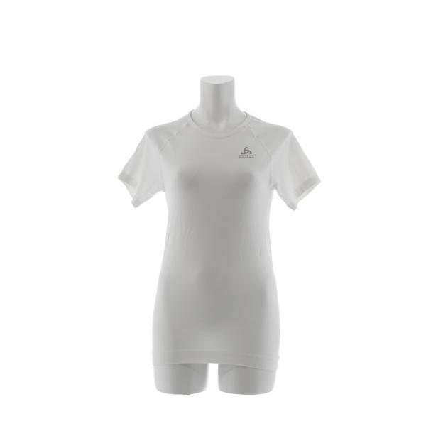 オドロ(ODLO) EVOLUTION LIGHT ベースレイヤー 半袖Tシャツ 184001 WHI(Lady's)