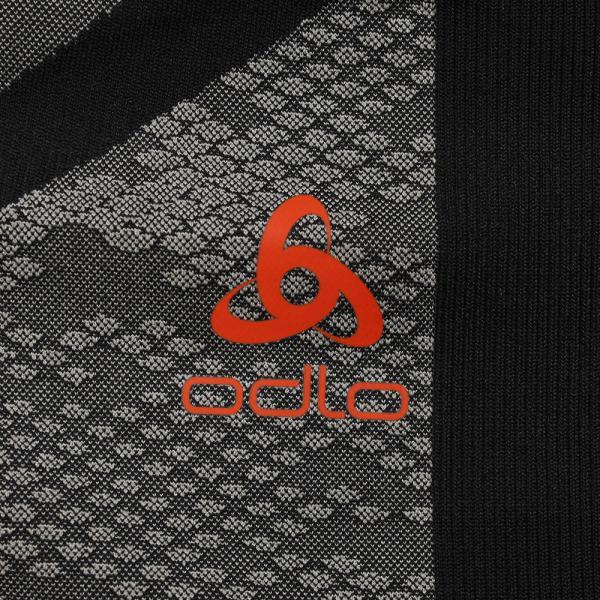 オドロ(ODLO) BLACKCOMB EVOLUTION WARM ベースレイヤー 機能性タイツ 170972 BLK(Men's)