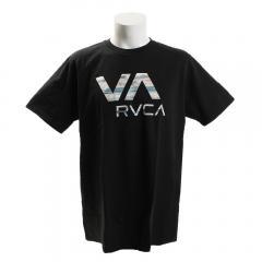 RVCA ゲンテイVAロゴTシャツ AI041P34 BLK(Men's)