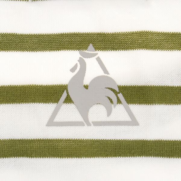 ルコック スポルティフ(Lecoq Sportif) 【ゼビオグループ限定】 半袖ボーダーTシャツ QMWLJA10XB SLG(Lady's)