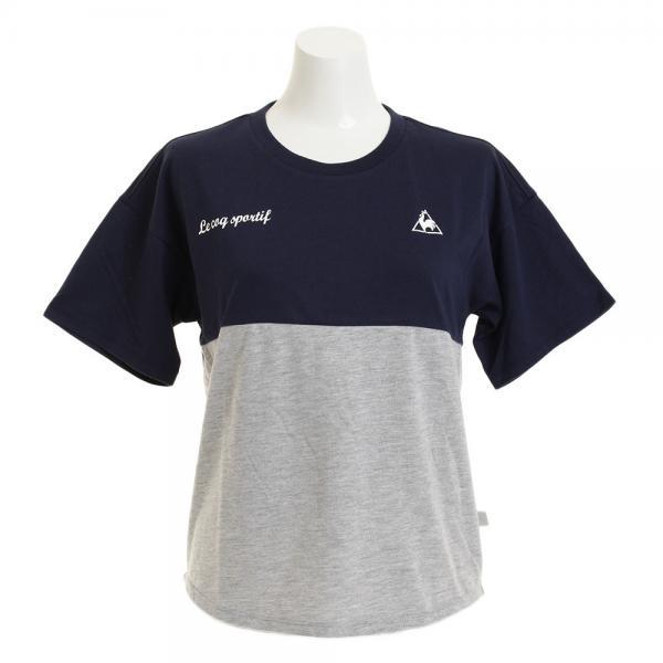 ルコック スポルティフ(Lecoq Sportif) 【ゼビオグループ限定】 ゆるTシャツ QMWLJA12XB MGR(Lady's)