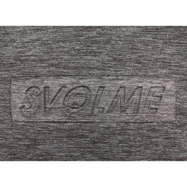 スヴォルメ(SVOLME) ジュニア ストレッチ裏毛フーディー 183-87901GY(Jr)